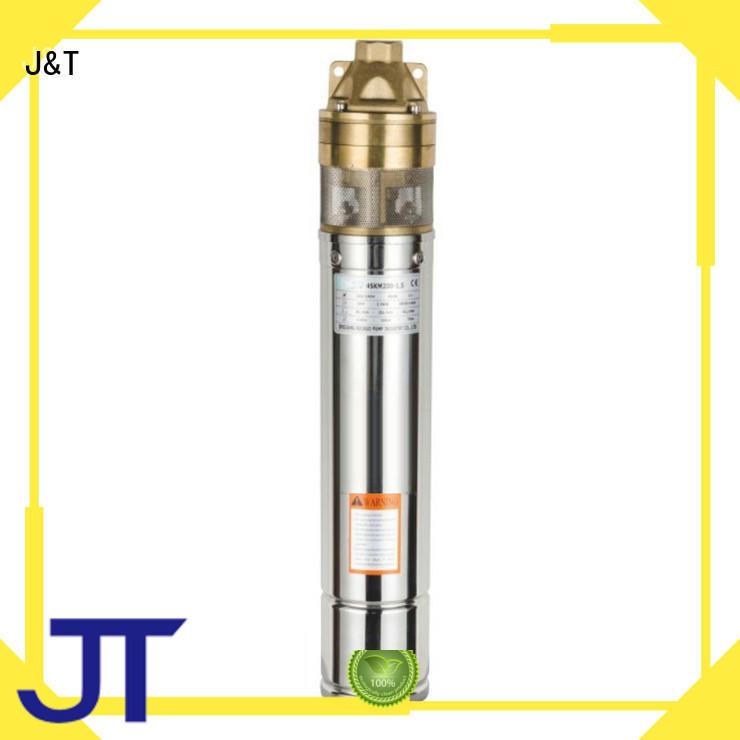 JT automatic borehole pumps prices irrigation for garden