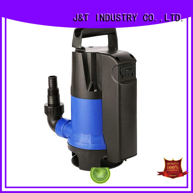 JT electronic small submersible fountain pump intellect for farmland
