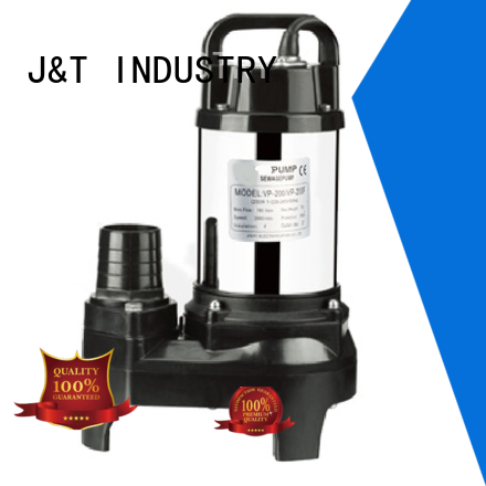 JT Custom submersible sewage pump for Drainage system for farmland