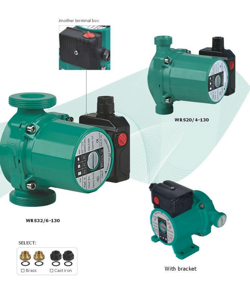 JT aluminum hot water circulating pump long-distance water transfer for garden-2