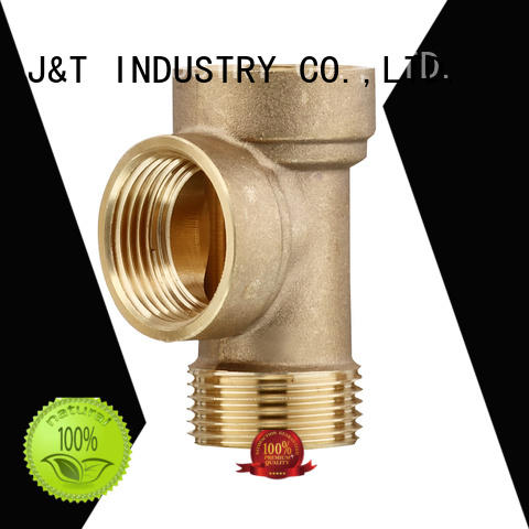 JT high quality brass hose barb fittings with pressure for home