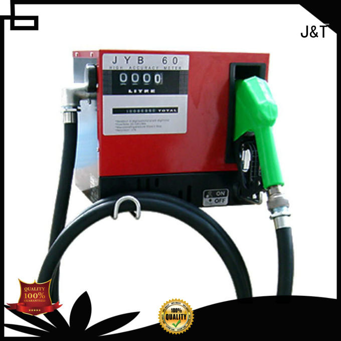 JT electronic pneumatic waste oil pump for business for petrol station