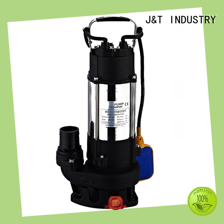 aluminum sea water pump jwq107075qgimpeller for water cluster for boxes