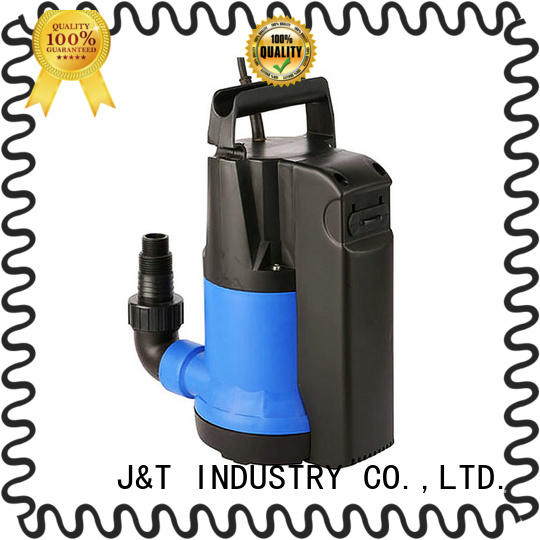 JT jdp400qd submersible fountain pumps in house for washing