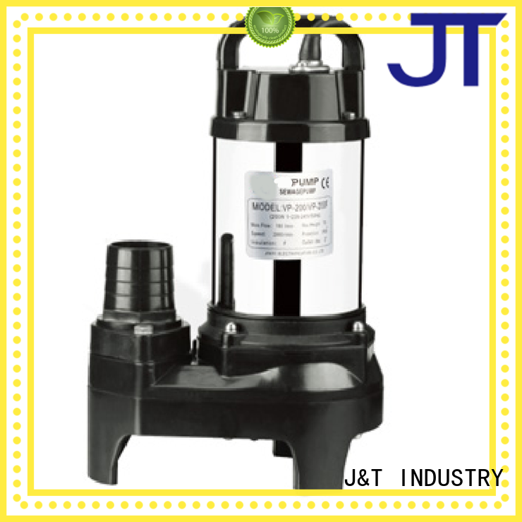 JT grinder seawater submersible pump less volume for family