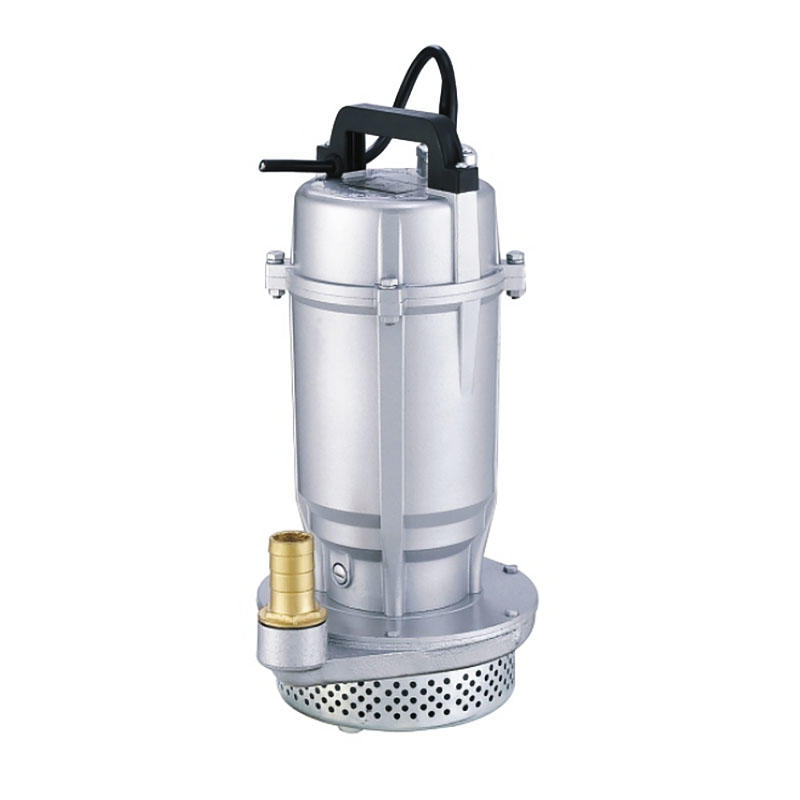 Submersible pump with an open or closed impeller for QDX3-10-0.25