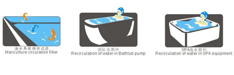 JT durable bath water pump less-vibration for tub-5