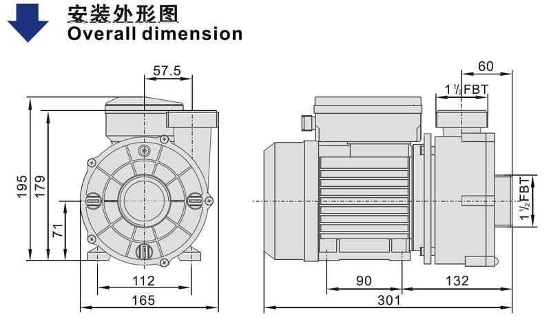 JT automatic hot tub pump replacement motor for basements-2