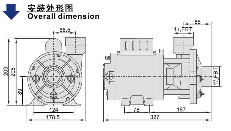 domestic waterway hot tub pumps canada pump factory for basements-2