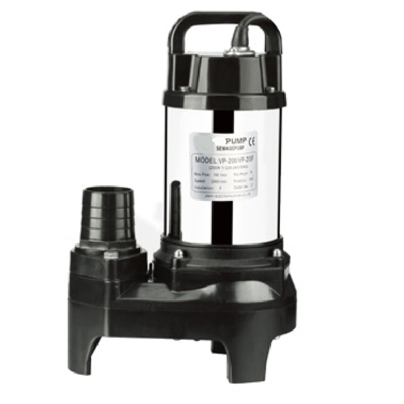 Seawater adapted Submersible pump for VP200