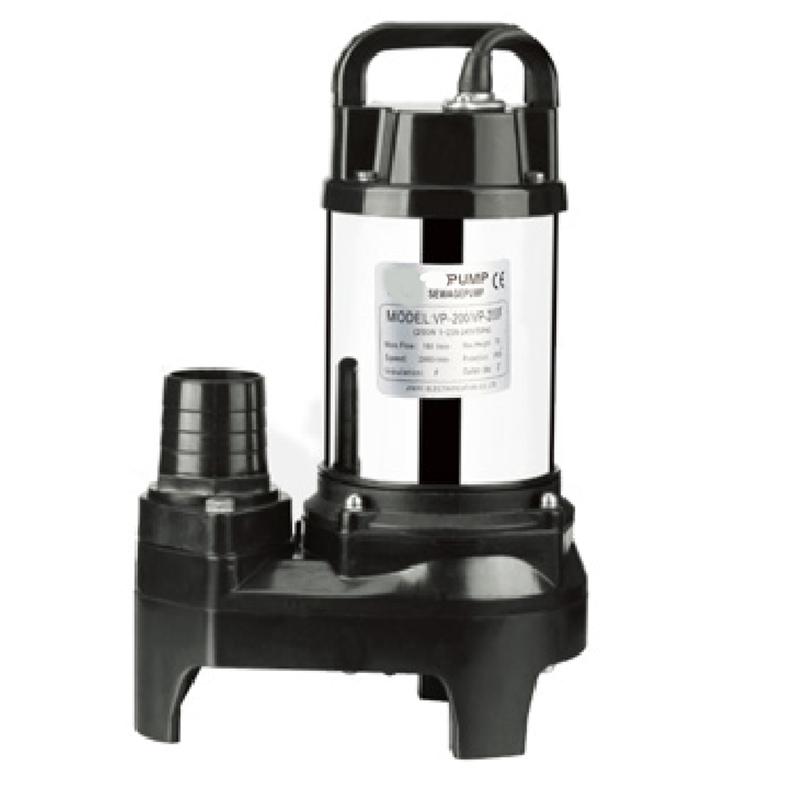 flow effluent pump submersible for family JT