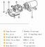 electronic electric water pump motor liter Supply for house