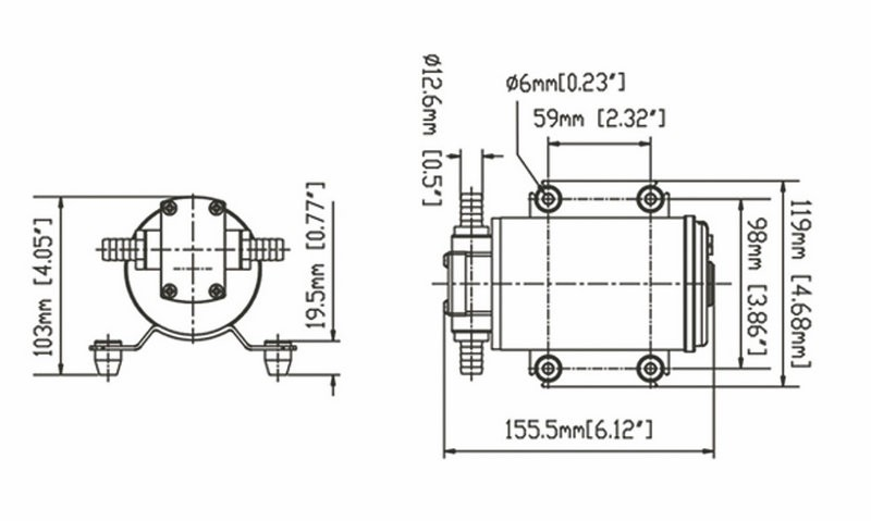 JT diaphragm water pump foot valve high reliability for building-2