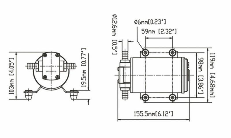 JT diaphragm water pump foot valve high reliability for building