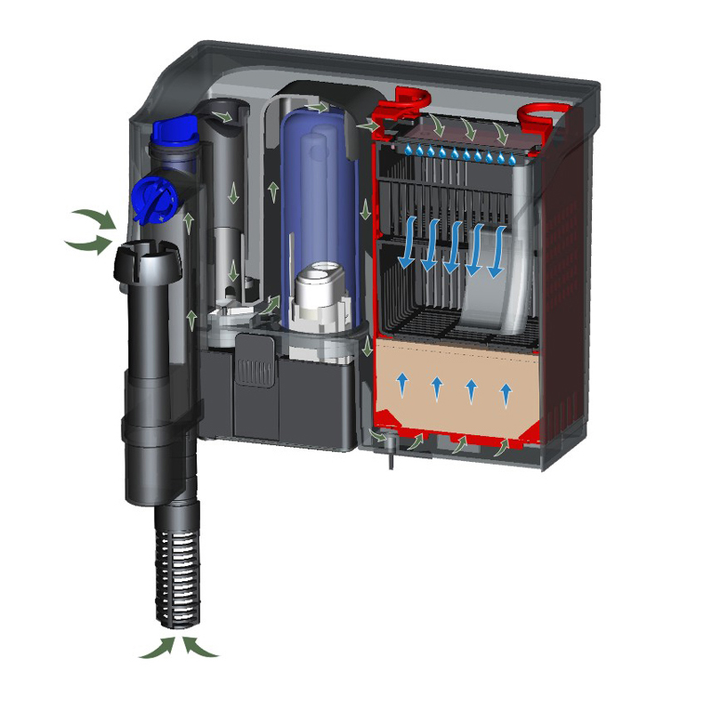 multi - functional water filter and pump pond for sale for house-2