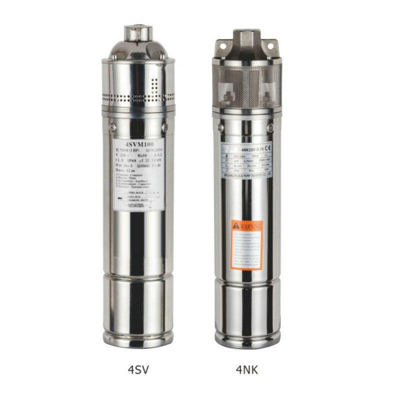 Borewell Submersible Water Pump  Bore Hole Pump 4SV&4NK