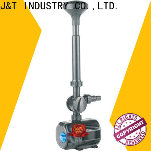 JT Custom fish pond water pump filter factory for fountain