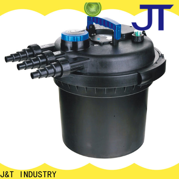 JT automatic external pond filter for business for garden