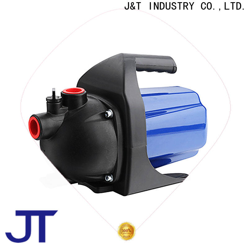 Plastic shallow jet pump well supply for draw water