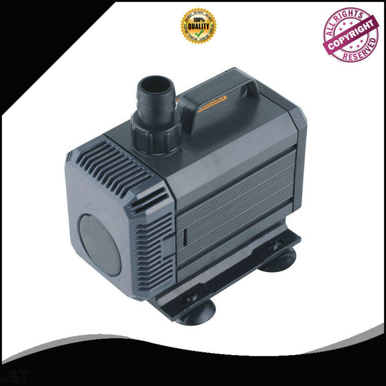 JT high efficiency best fish tank pump for sale for construction