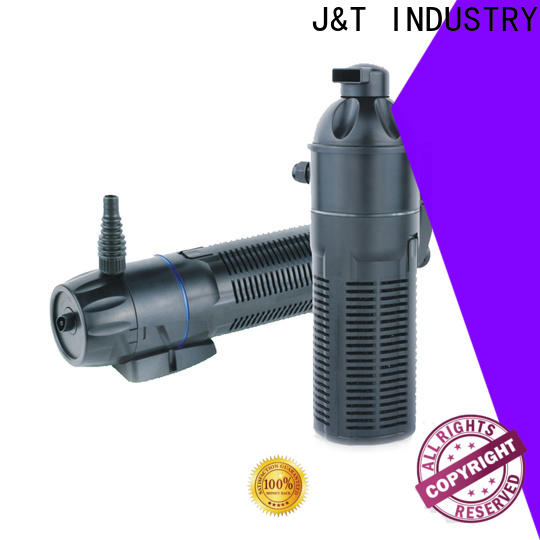 JT Latest pump action water filter company for aquarium