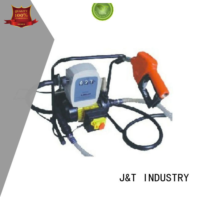 JT electronic diesel fuel pump fast and convenient installation, for aquarium