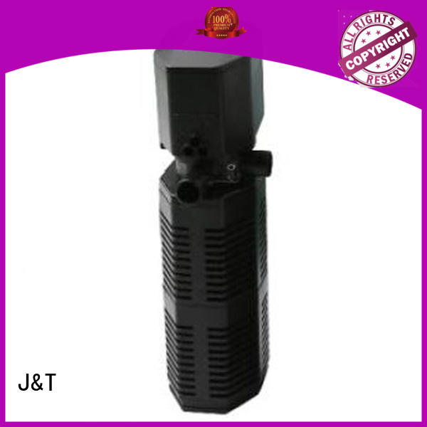 multi - functional submersible aquarium filter pump Factory for rockery pond for water circulation JT
