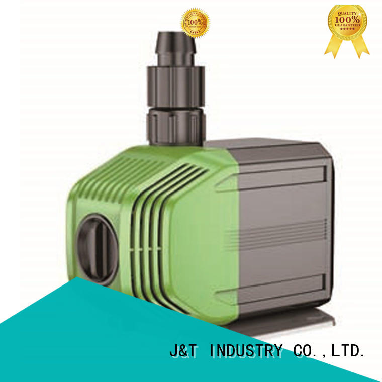 JT adjustable outdoor water feature pumps easy use for fountain