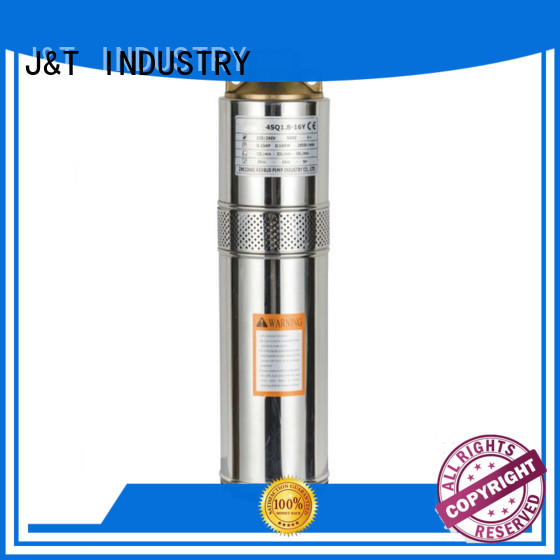 JT hole best deep well submersible pump filter for underground for water level