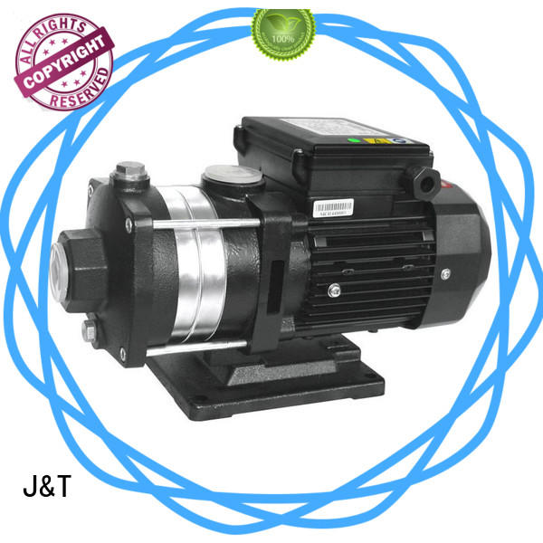 JT plastic PPO horizontal multistage centrifugal pump filter for booster