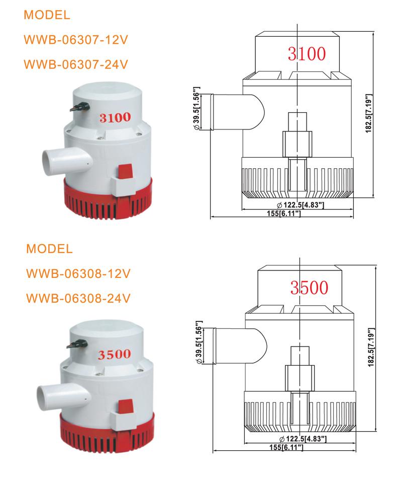 JT automatic bilge pump high reliability for aquarium-3