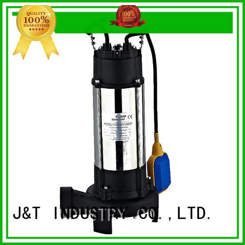 JT copper submersible drainage pump light weight construction sites