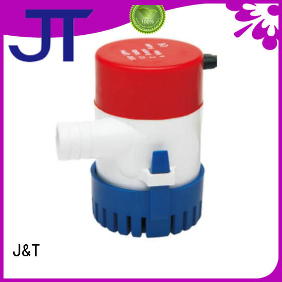 JT water battery powered automatic bilge pump fast and convenient installation, for petrol station