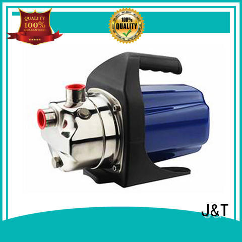 JT Plastic electric water pump system for washing