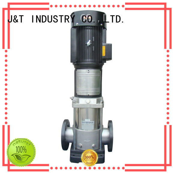 JT easy operation vertical multistage pump for sale for underground water level