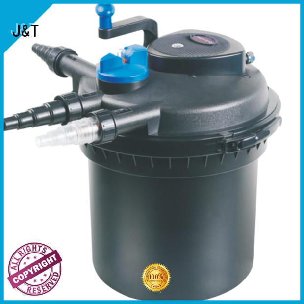 JT efficient koi pond bio filter for sea for pond
