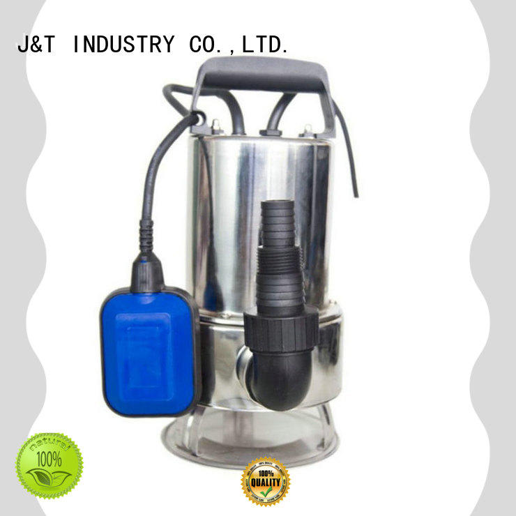 JT Top underwater pump in house for washing