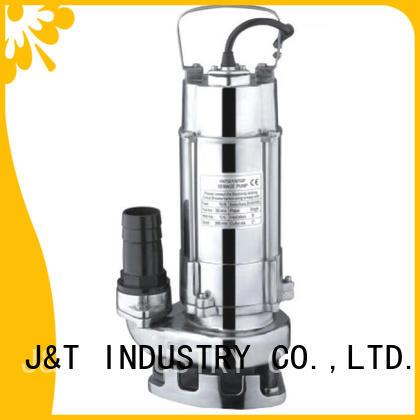 JT Best 3 hp sewage pump less volume for mining enterprises