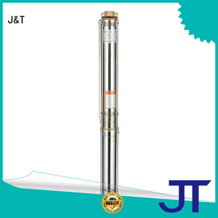 JT easy operation dc borehole pumps irrigation for garden