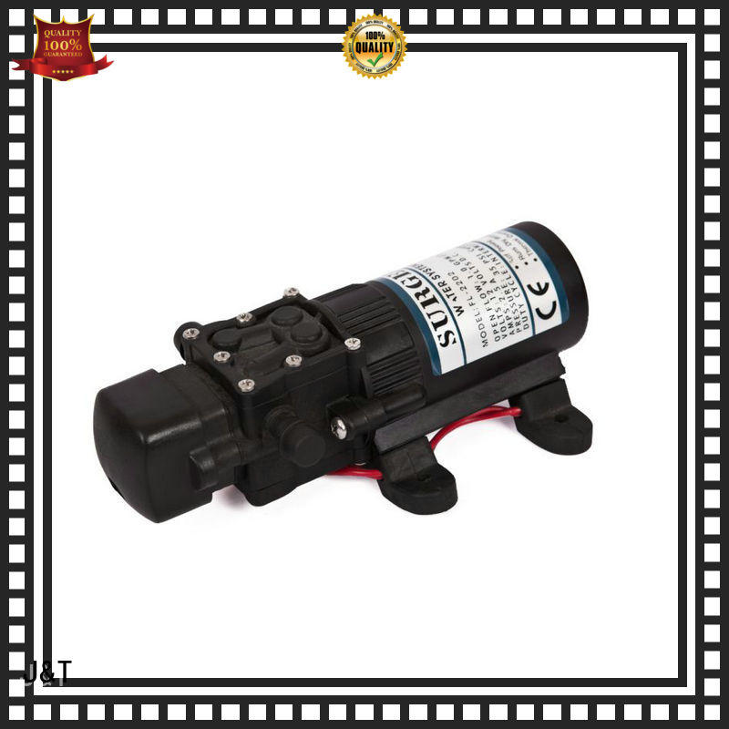 JT stainless steel mechanical diaphragm pump fast and convenient installation, for construction