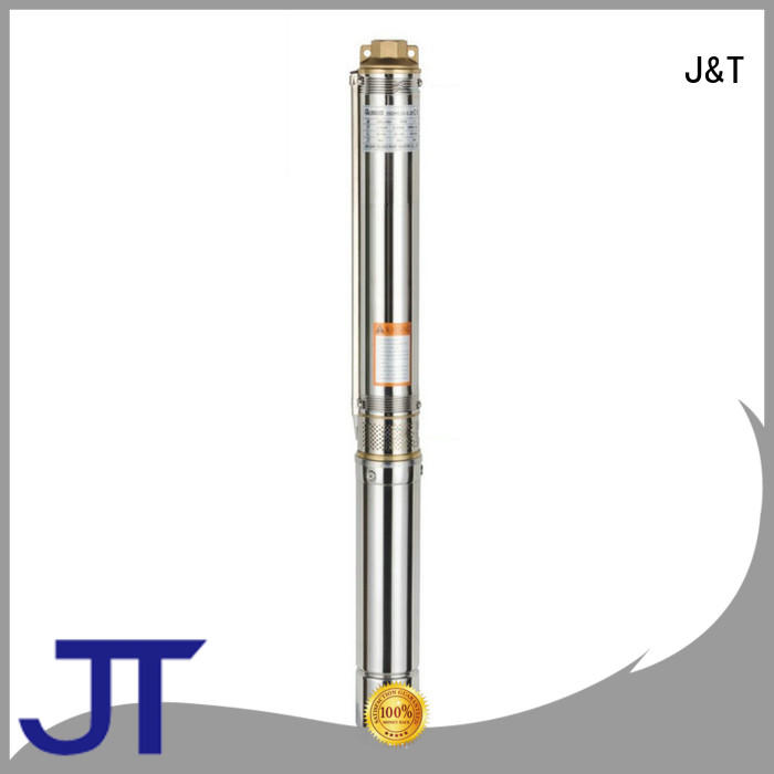 JT stainless steel open well submersible pump price convenient operation for Lowering