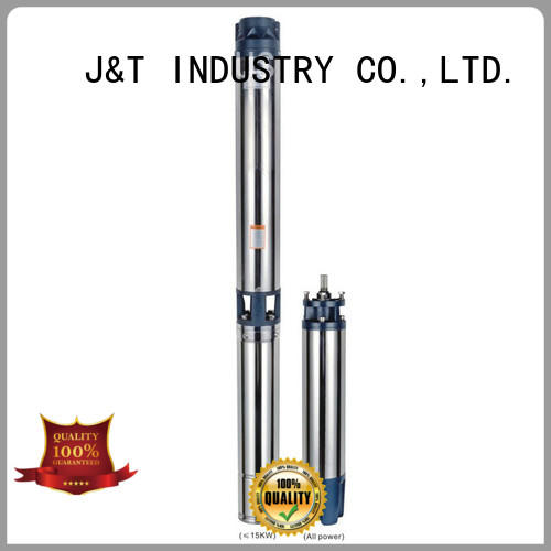 JT easy operation deep well submersible pump high efficiency for farm