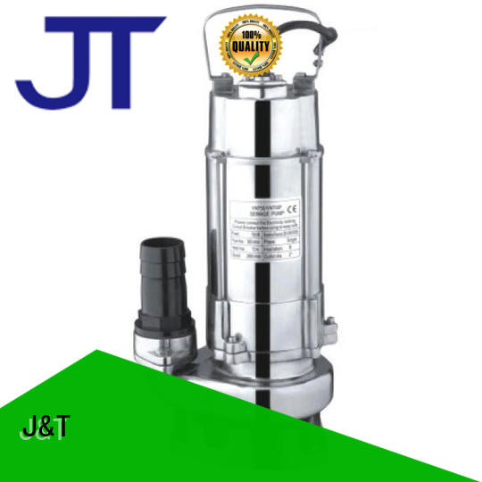JT high lift sewage pump less volume for water cluster for boxes