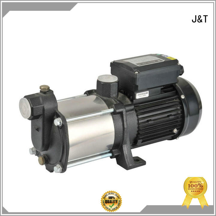 professional horizontal centrifugal pump manufacture for underground water level JT
