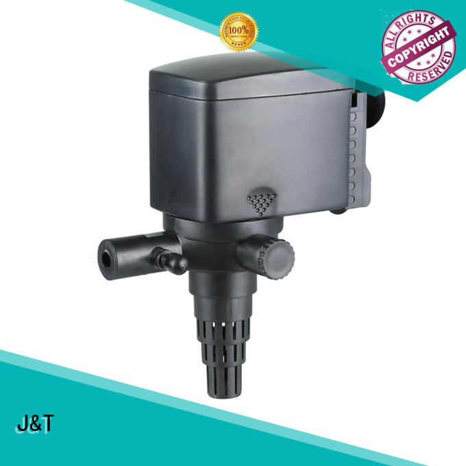 JT safequietoperation submersible aquarium filter Factory for rockery pond for water circulation