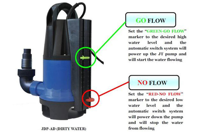submersible pool pump automatic for fountains JT-2