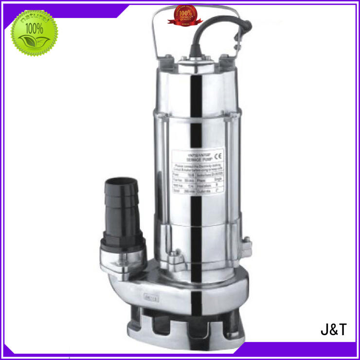 JT automatic sewer pumps commercial for business for family