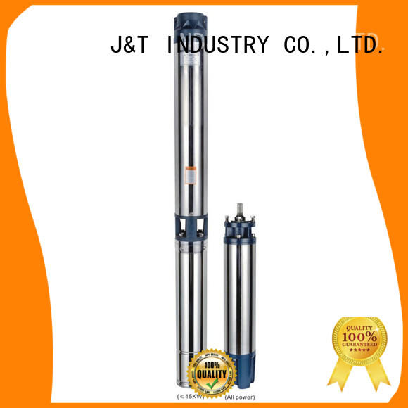 JT stainless steel solar bore pump price filter for Lowering