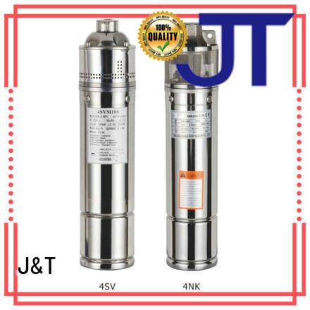 JT pump submersible bore pumps for sale convenient operation for garden