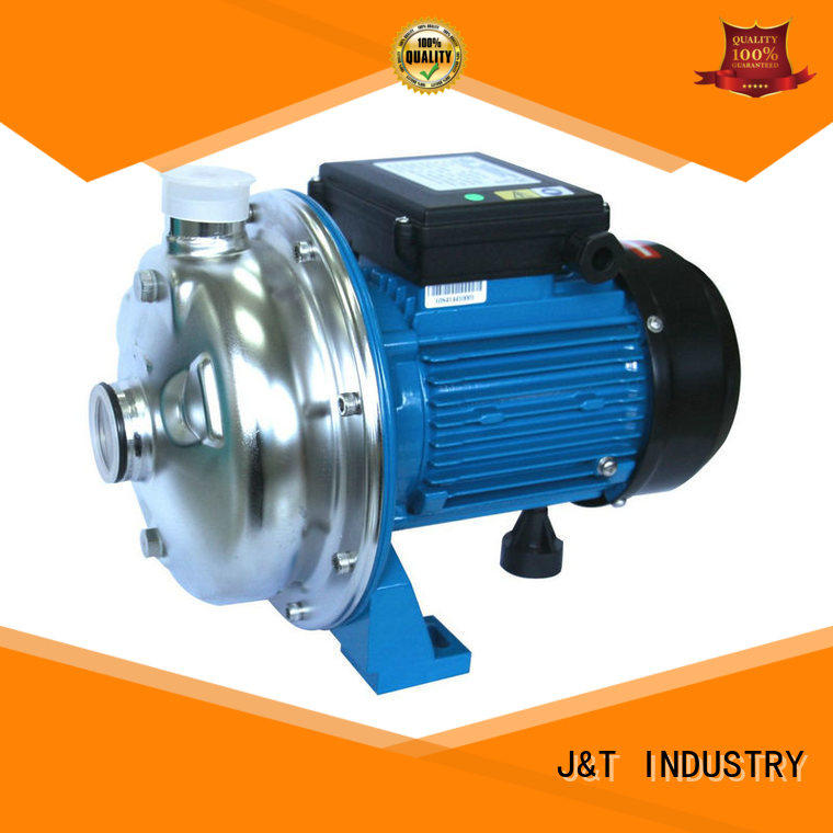 JT automatic stainless steel centrifugal pump high efficiency for fountain